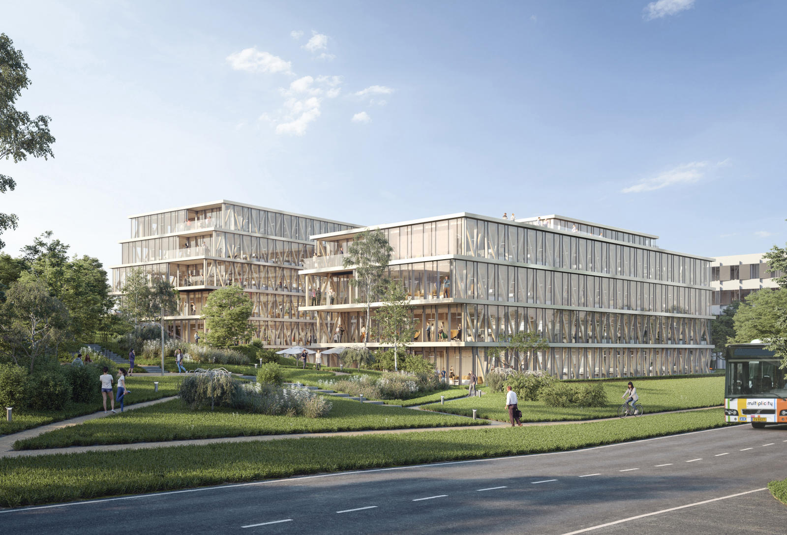 New headquarters of Bâloise Assurances Luxembourg
